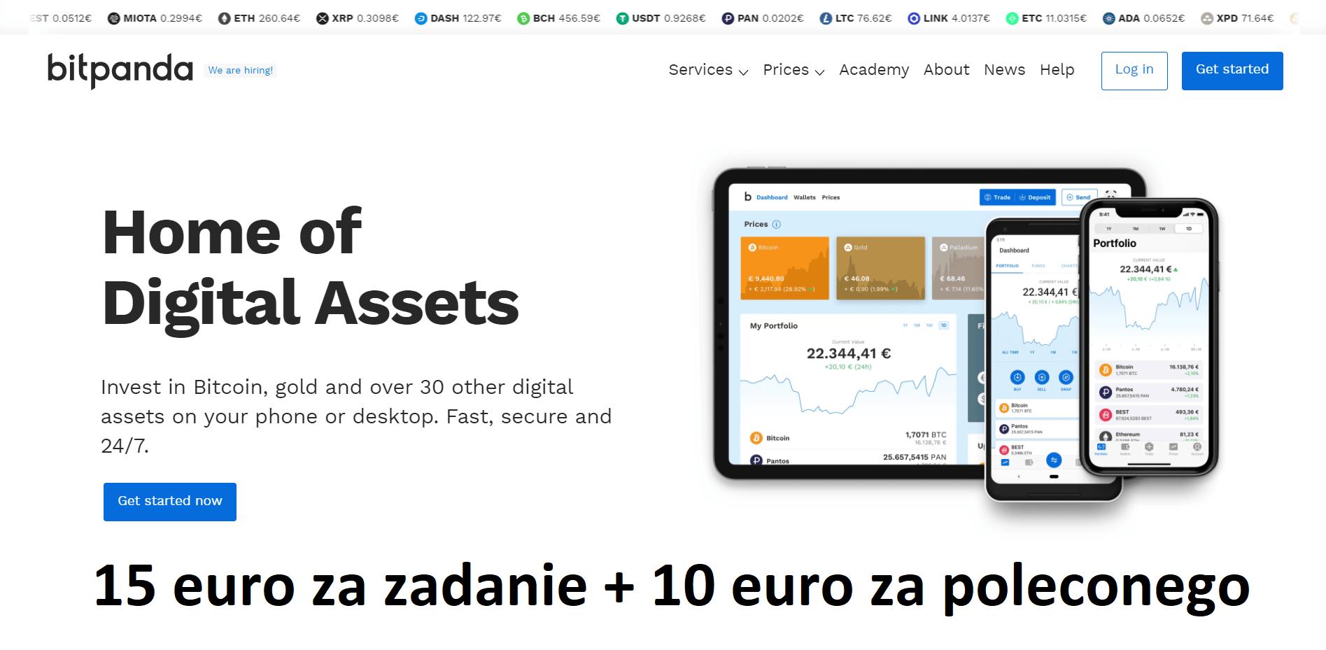bitpanda zdjecie glowne 15 euro