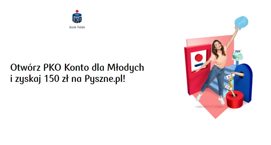 150 zl na pyszne.pl z pko bp