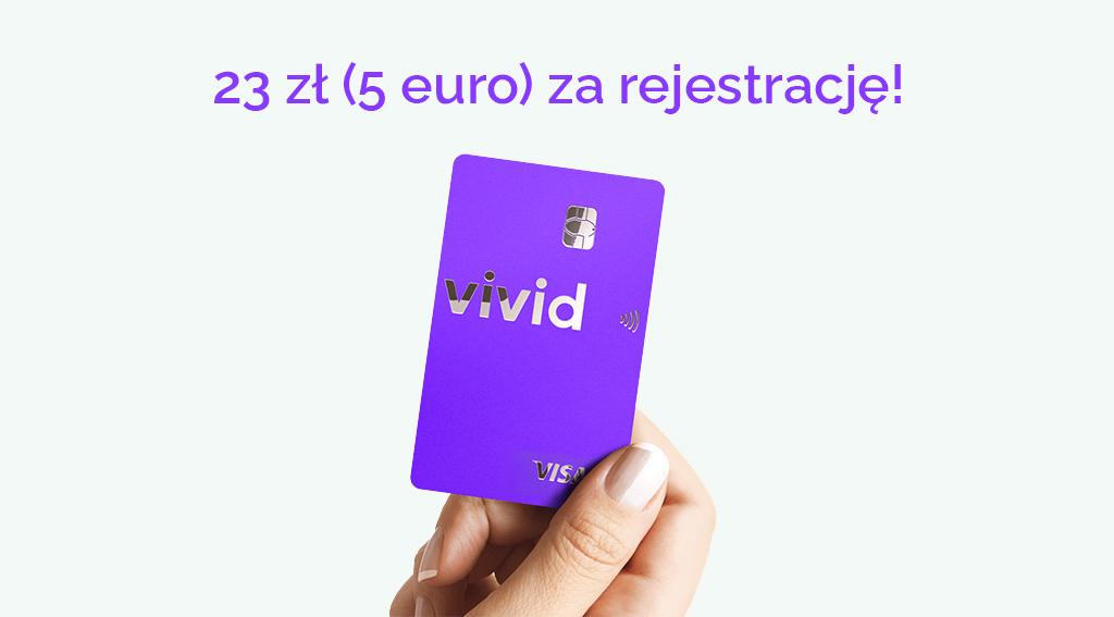 vivid 5 euro za rejestracje