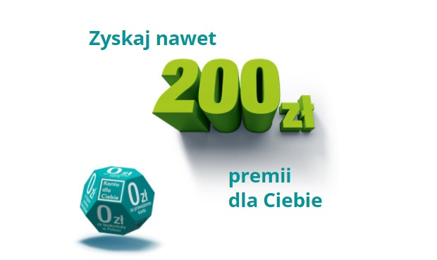 200 zl za przeniesienie konta Credit Agricole