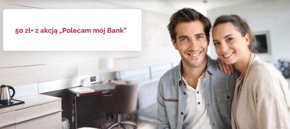 50 zl Polecam moj Bank z Santander
