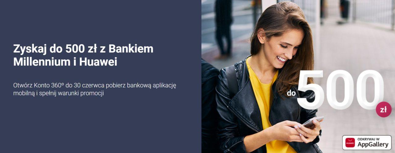 do 500 zl z millennium bankiem